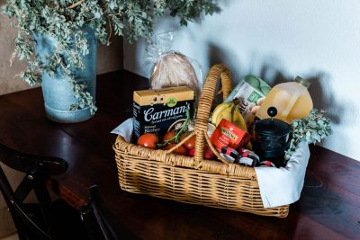 breakfast basket for saltbush retreat