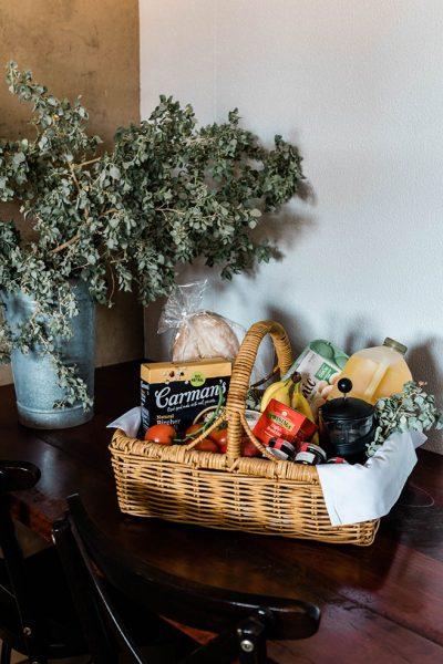 breakfast basket from saltbush retreat
