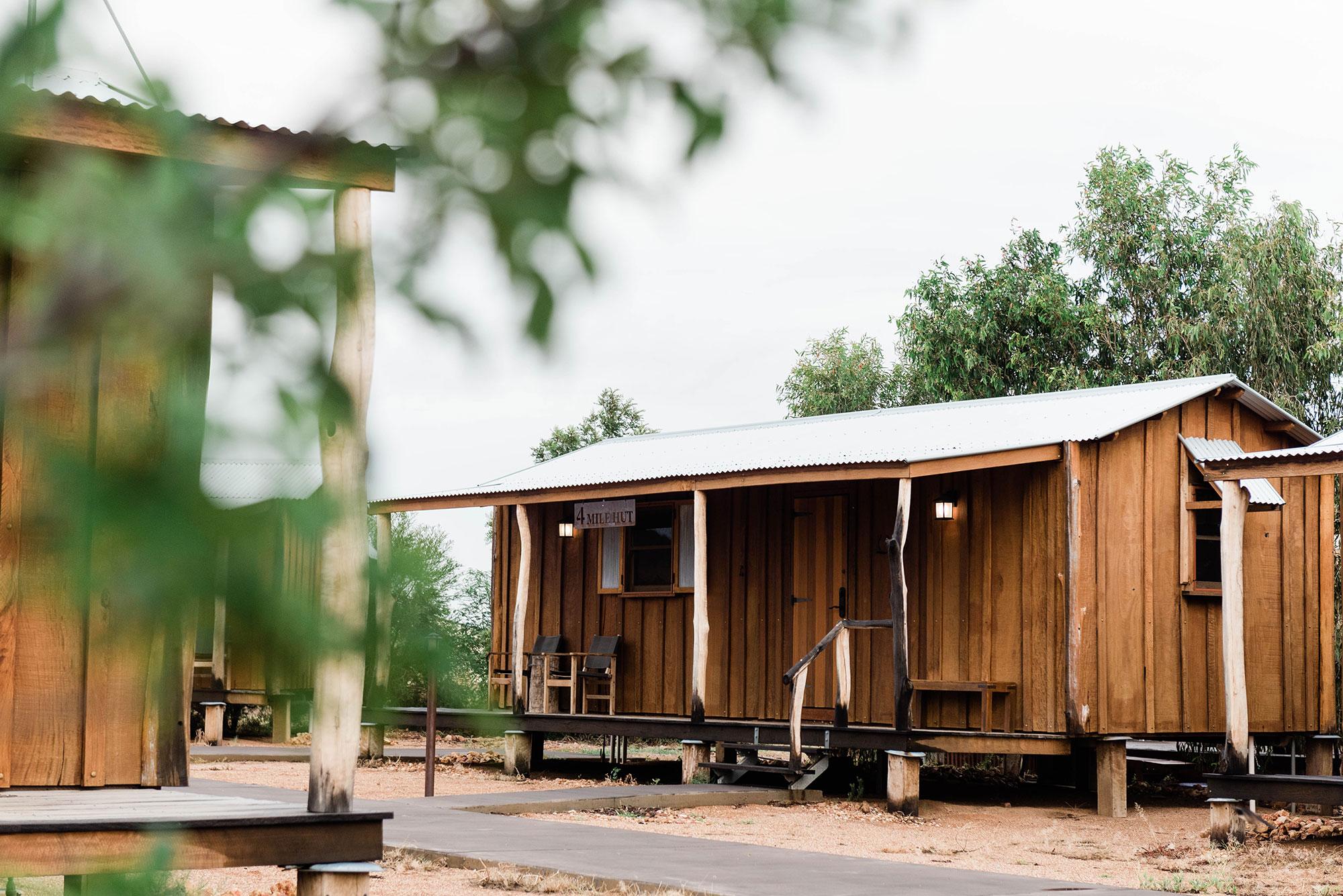 Saltbush Slab Huts exterior